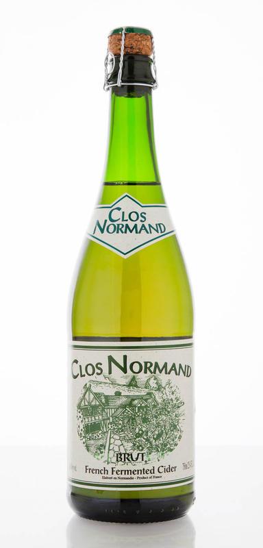 Clos Normand Brut Cider beer Label Full Size