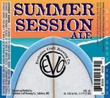 Evolution Summer Session beer