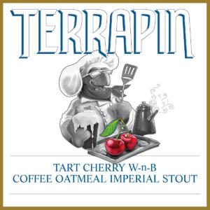 Terrapin Tart Cherry W-n-B beer Label Full Size