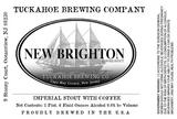 Tuckahoe New Brighton Coffee Stout beer