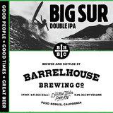 Barrel House Big Sur IIPA beer