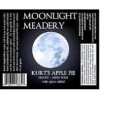 Moonlight Kurt's Apple Pie beer Label Full Size