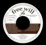 Free Will Napoleon Sour Farmhouse Ale beer