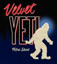 Great Divide Velvet Yeti Nitro beer Label Full Size