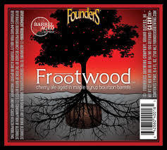 Founders Frootwood beer Label Full Size