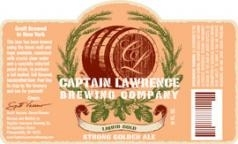 Captain Lawrence Liquid Gold beer Label Full Size