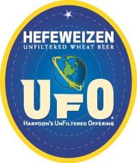 Harpoon UFO Hefeweizen beer Label Full Size