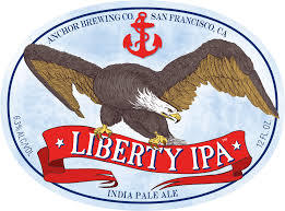 Anchor Liberty IPA beer Label Full Size