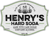 Henry's Hard Grape Soda Beer