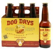Two Brothers Dog Days beer Label Full Size
