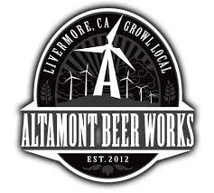 Altamont Nutty Operator beer Label Full Size