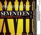Weyerbacher 17 beer