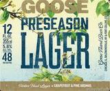 Goose Island  Preseason Lager Beer