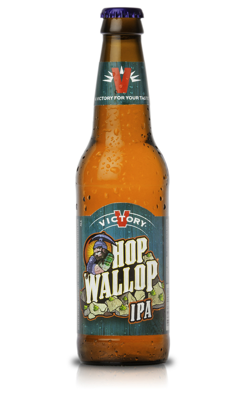 Victory Hop Wallop beer Label Full Size