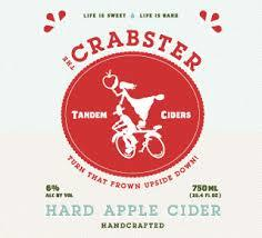Tandem Ciders Crabster beer Label Full Size