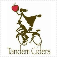 Tandem Ciders The Sweetheart beer Label Full Size