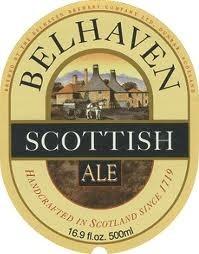 Belhaven Scottish Ale Nitro beer Label Full Size