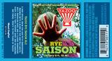 Yazoo Rye Saison beer