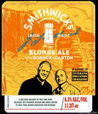 Smithwicks Boomer & Carton Blonde Ale Beer