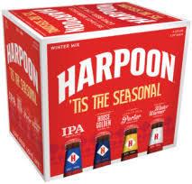 Harpoon Tis The Season beer Label Full Size