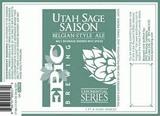 Epic Utah Sage Saison beer