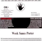 Left Hand Beer Week Sauce beer
