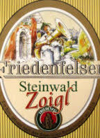 Friedenfelser Steinwald Zoigl beer Label Full Size