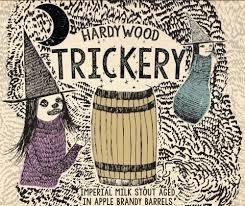 Hardywood Park Trickery beer Label Full Size