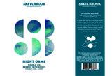 Sketchbook Night Game Beer