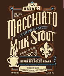 Abita Macchiato Espresso Milk Stout beer Label Full Size