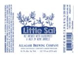 Allagash Little Sal beer