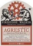 Firestone Walker Agrestic Ale 2016 Beer