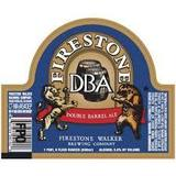 Firestone Walker's DBA (Double Barrel Ale) beer