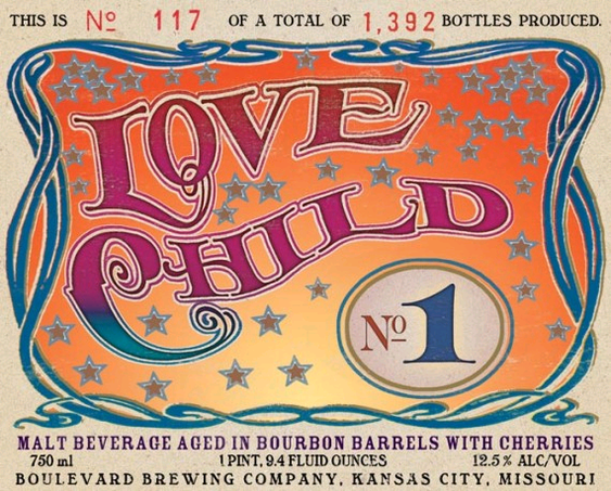 Boulevard Love Child beer Label Full Size