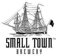 Small Town Not Your Mom's Apple Pie beer Label Full Size