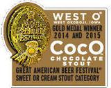 West O Barrel Aged Coco beer