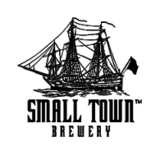 Small Town Not Your Mom's Strawberry Rhubarb Beer