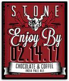 Stone Enjoy By 2.14.17 Chocolate & Coffee IPA beer