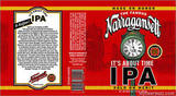 Narragansett It's About Time IPA beer