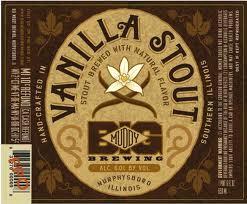 Big Muddy Vanilla Stout beer Label Full Size