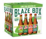 Long Trail Blaze Box beer