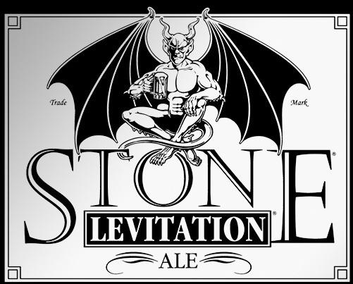 Stone Levitation Ale beer Label Full Size