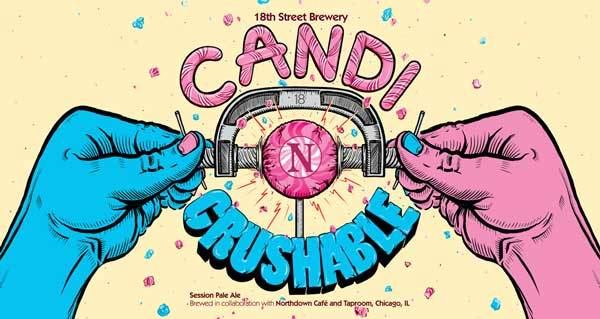 18th St. Candi Crushable beer Label Full Size