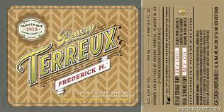 Bruery Terreux Frederick H. beer Label Full Size