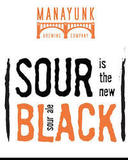 Manayunk Sour is the New Black beer