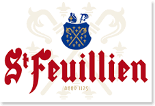 St. Feuillien Le Blanche Wit beer Label Full Size