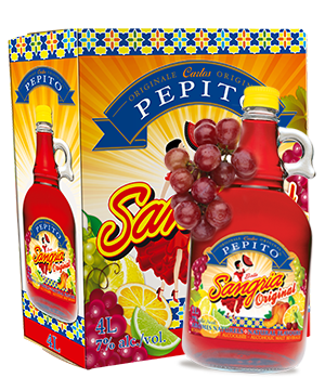 Pepito Sangria beer Label Full Size