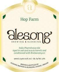 Alesong Hop Farm Beer
