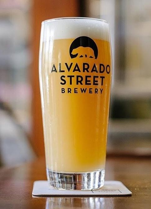 Alvarado Street Run the Juice beer Label Full Size