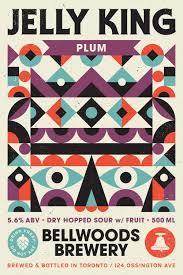 Bellwoods Jelly King Plum beer Label Full Size